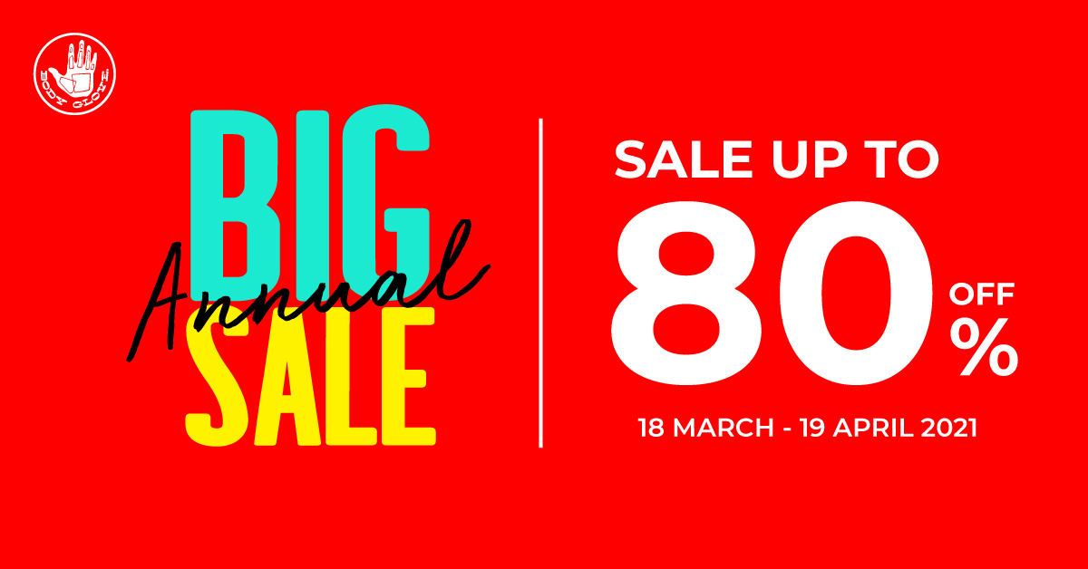 Big Annual Sale up to 80%