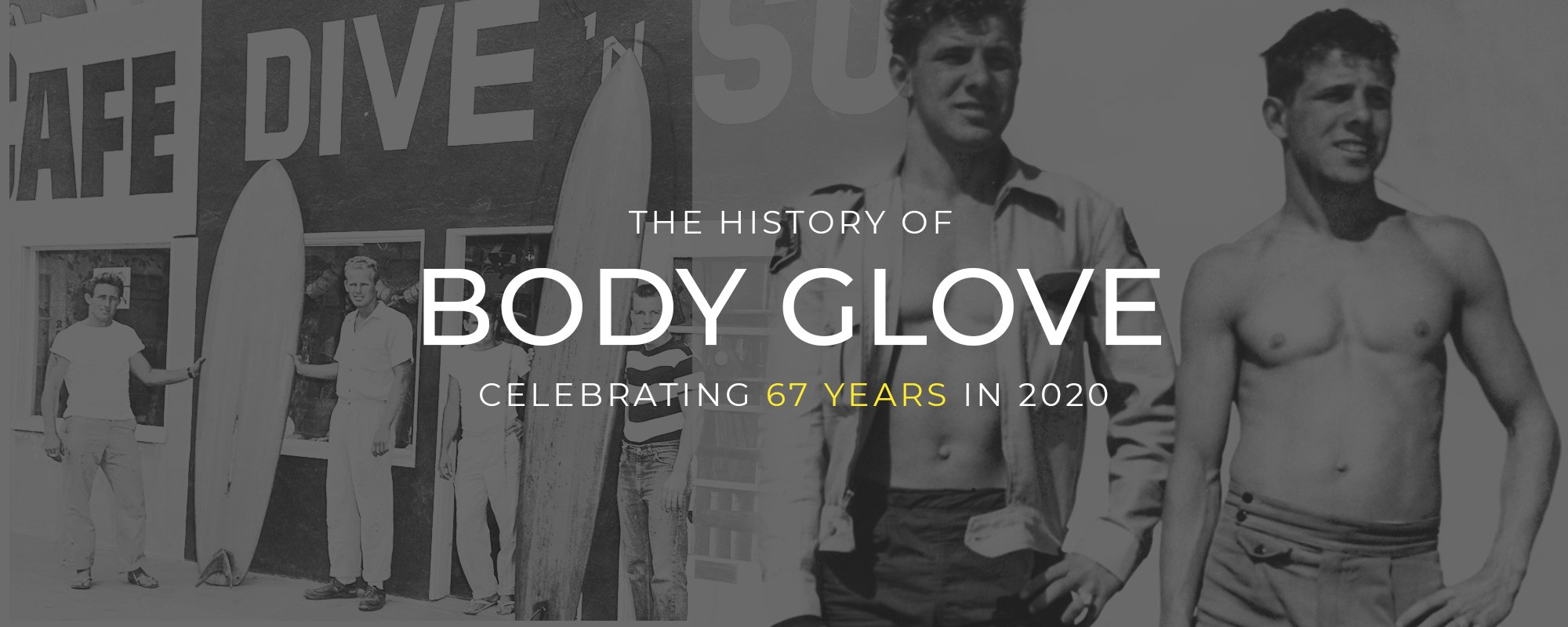 The History of Body Glove | Celebrating 67 Years in 2020
