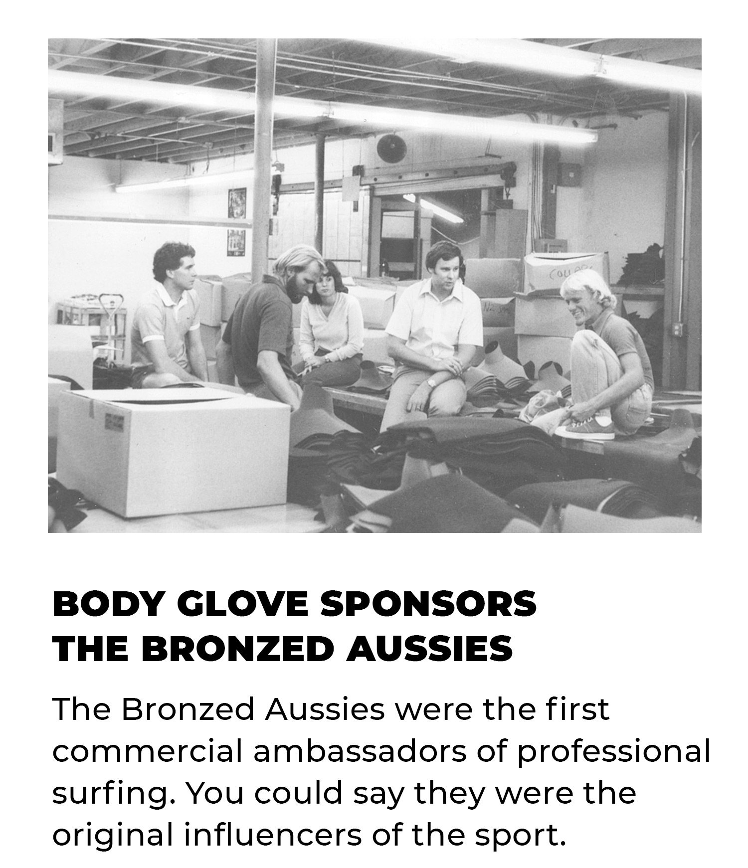 Body Glove Sponsors the Bronzed Aussies | The Bronzed Aussies were the first commercial ambassadors of professional surfing. You could say they were the original influencers of the sport.