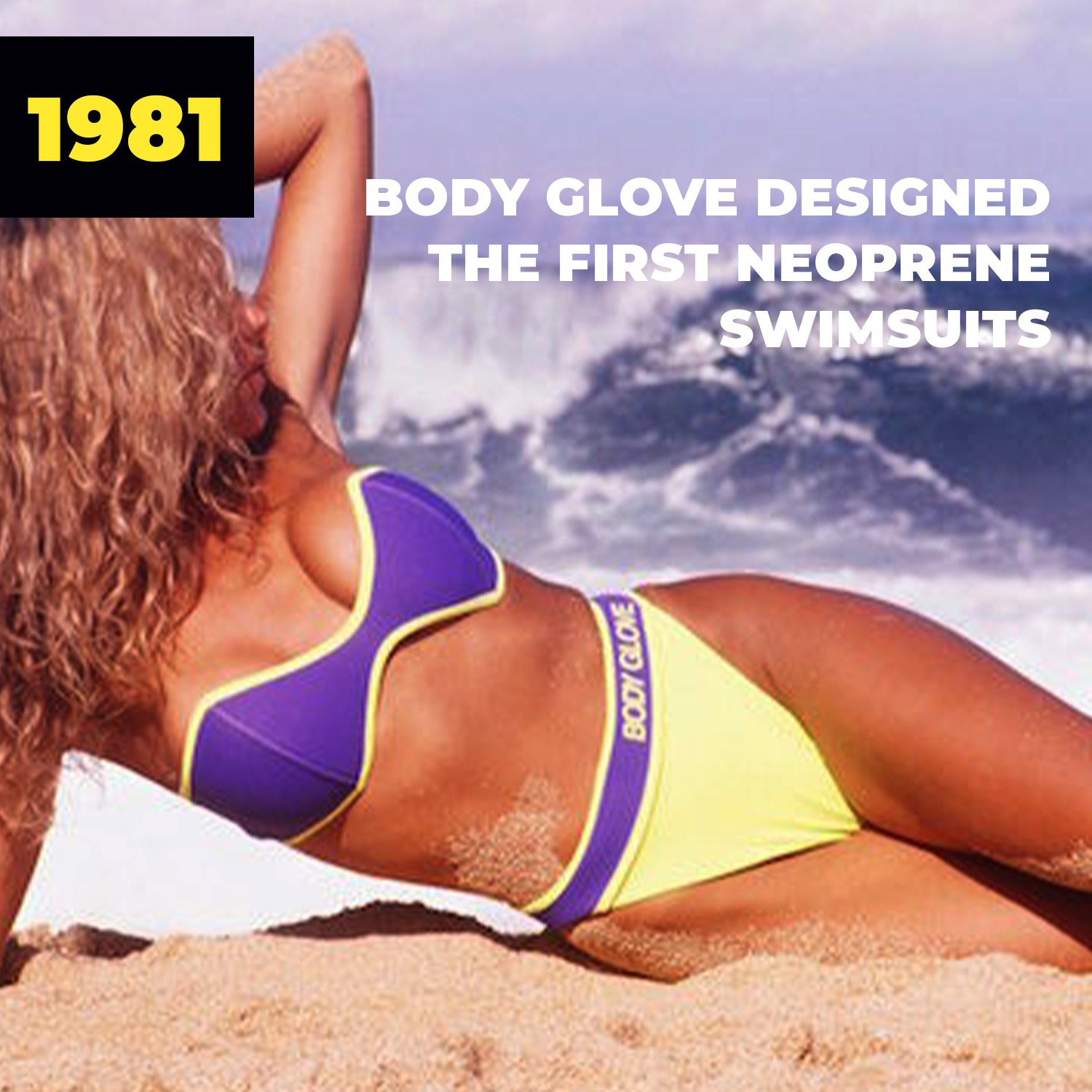 1981 | Body Glove Designed the First Neoprene Swimsuits